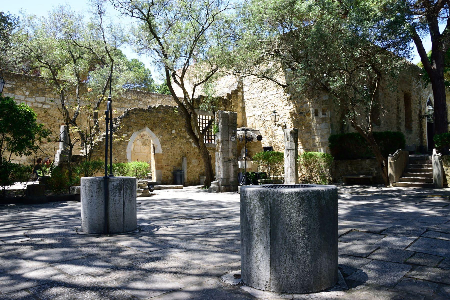 Giardino Romantico al Castello di São Jorge