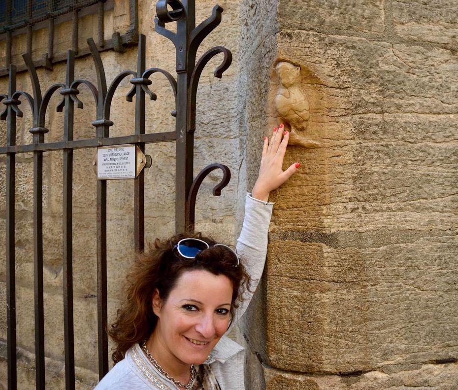 La civetta portafortuna all'Èglise Notre-Dame