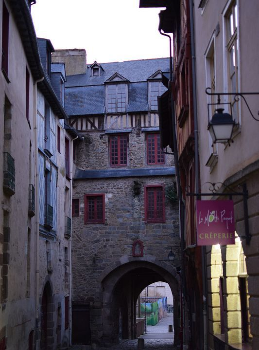 L'arco di Porte Mordelaise a Rennes