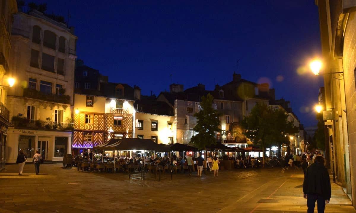 Rue Rallier du Baty a Rennes