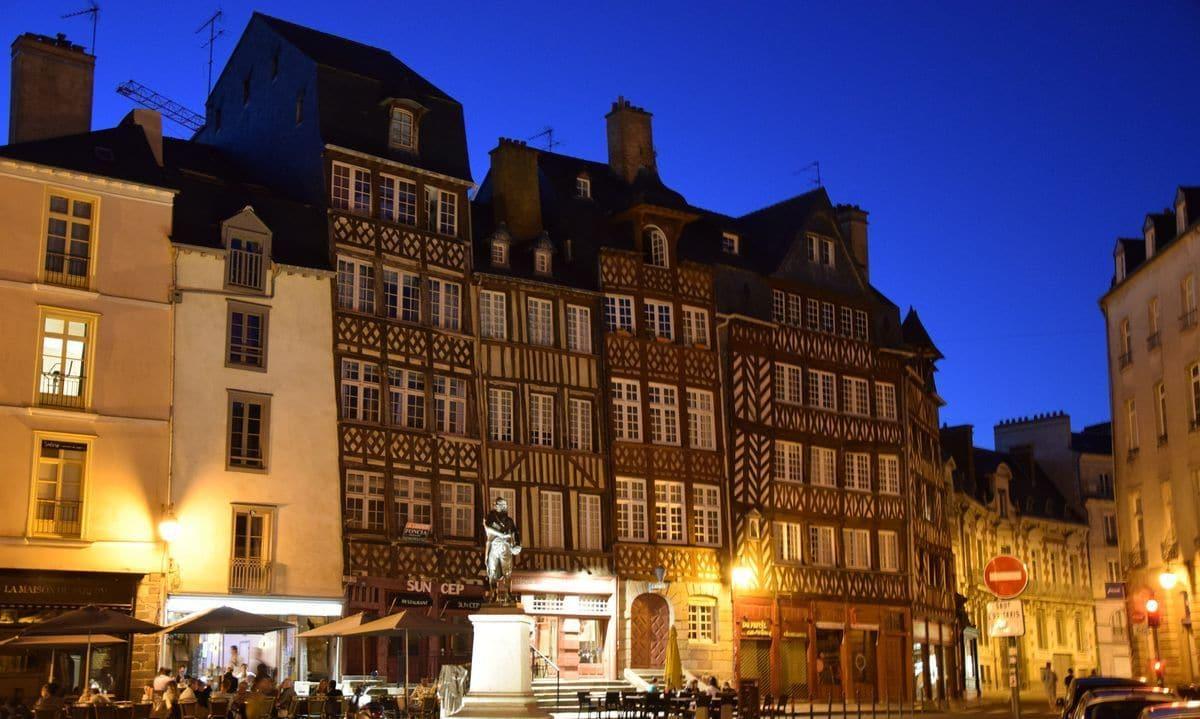 Le case a graticcio in Rue du Champ Jacquet a Rennes