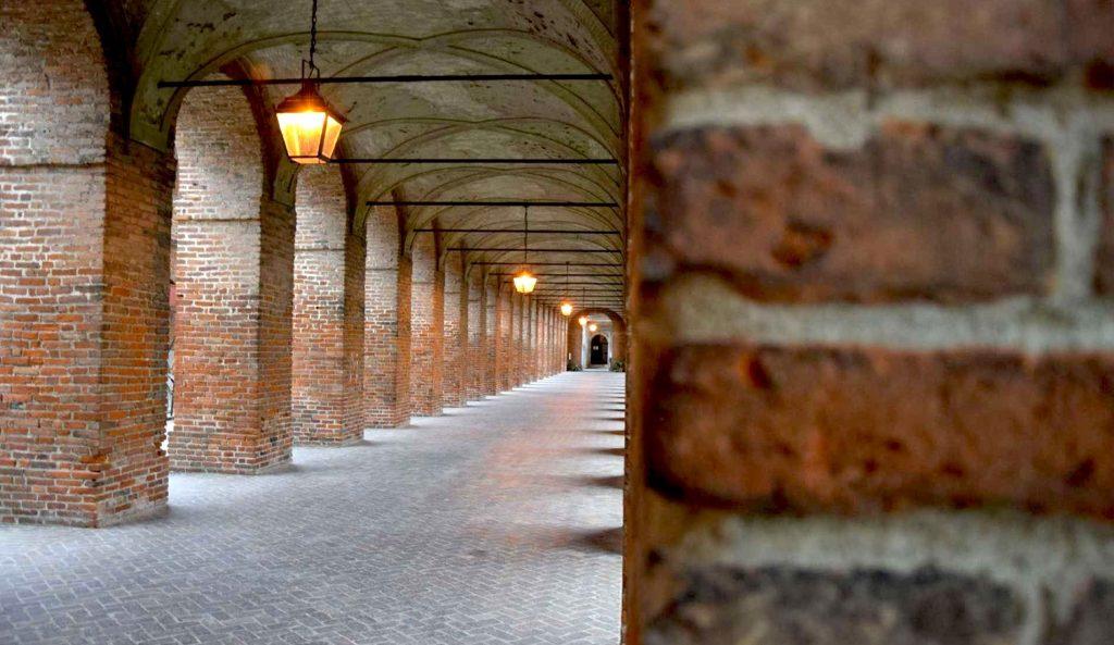Sabbioneta la Galleria degli Antichi