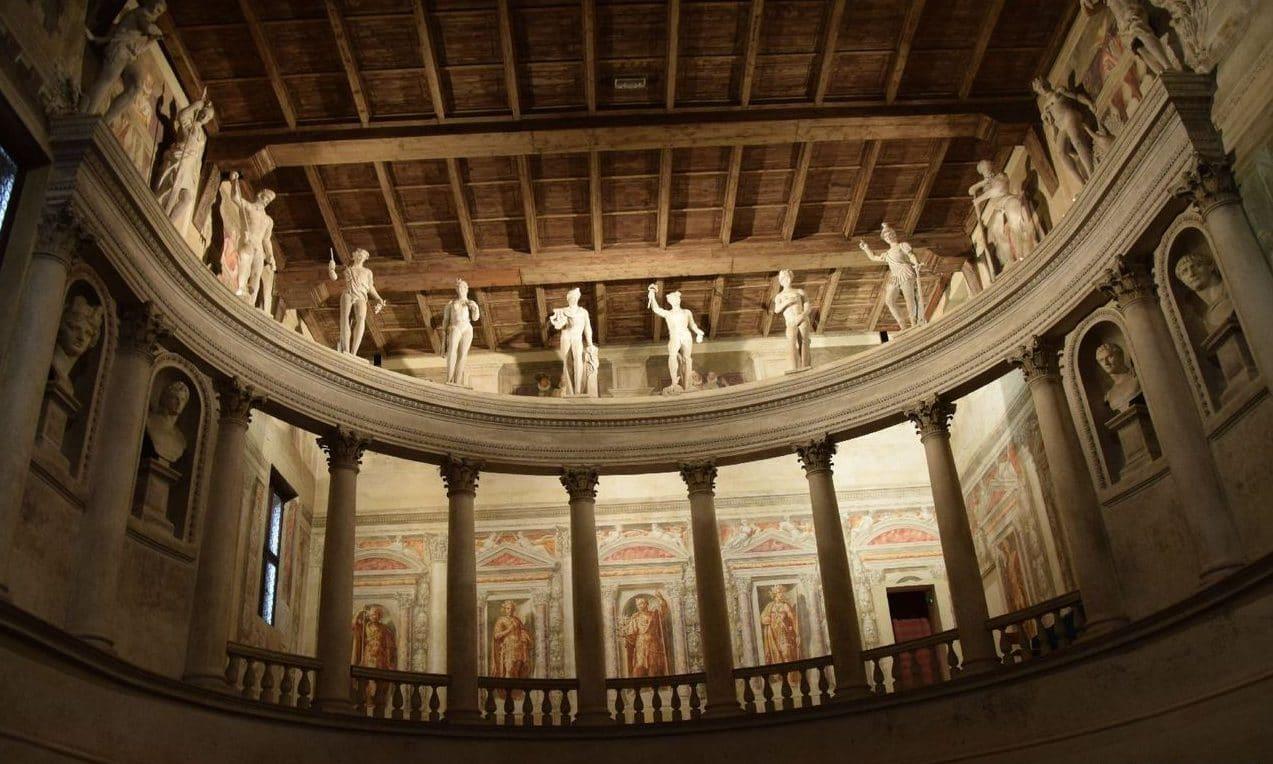 La loggia del teatro Olimpico Sabbioneta