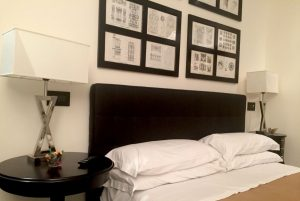 Il letto della camera La mainolda