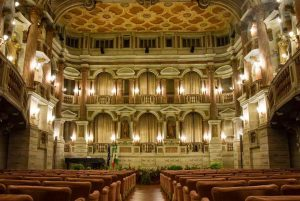 Interno del Teatro Scientifico Bibiena