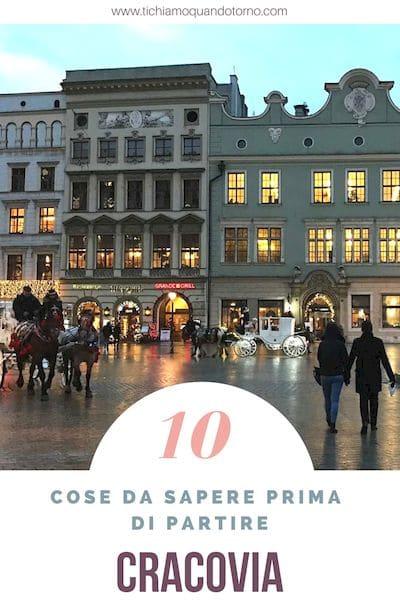 Cracovia 10 cose da sapere prima partire: informazioni e indicazioni pratiche su quartieri, clima, valuta, piatti tipici, shopping e molto altro ancora.  #Cracovia #polonia #informazioni #quartieri #clima #valuta #cosamangiare #shopping #travel #traveltips #consiglidiviaggio #travelblogger @PoloniaTurismo
