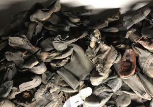 Le scarpe dei prigionieri di Auschwitz