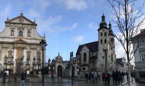 La Chiesa dei Santi Pietro e Paolo a Cracovia