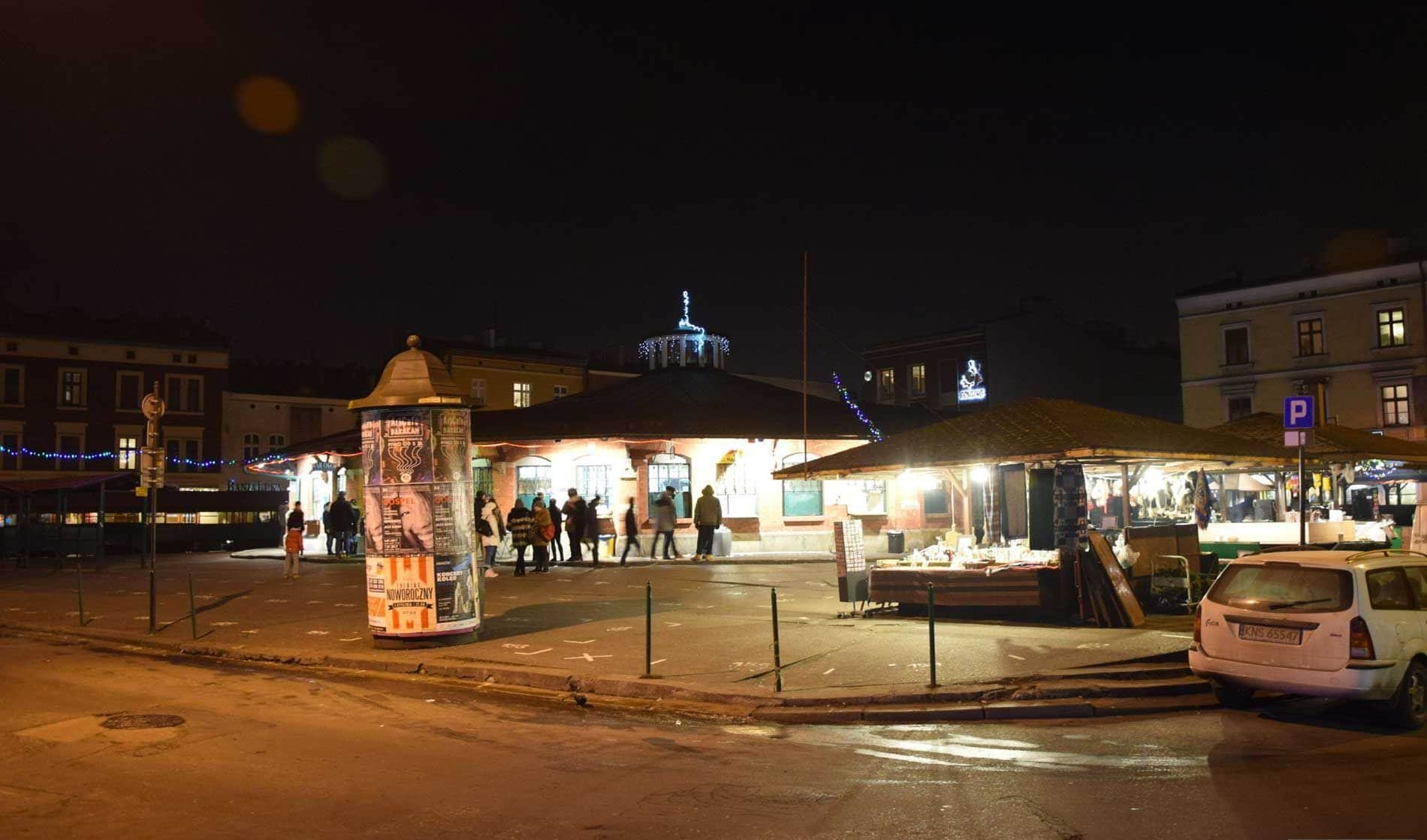 Street food in Plac Nowy a Cracovia