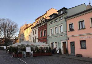 ulica Szeroka a Cracovia