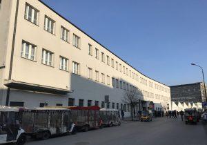 L'ingresso della Fabbrica di Schindler