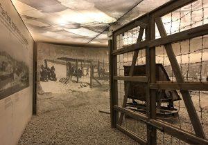 ricostruzione del campo di lavoro di Plaszow