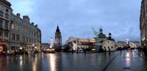 Piazza Rynek Glowny a Cracovia