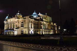 Il Teatro Slowacki a Cracovia