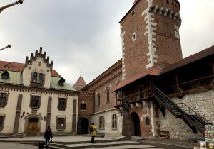Le antiche mura di Cracovia