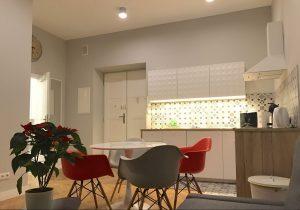 Il soggiorno dei Playroom Apartament