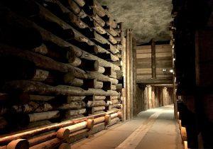 I tunnel della Miniera Wieliczka
