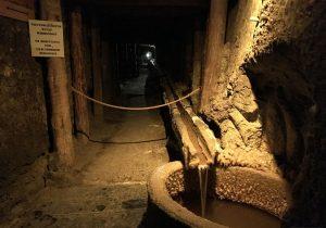 I tunnel nella Miniera Wieliczka