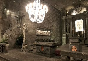 La cappella Kinga nella Miniera Wieliczka