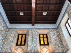 Gli affreschi dell'antico refettorio