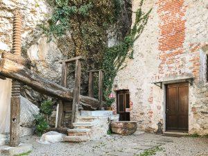 Il torchio del monastero di Santa Caterina del Sasso