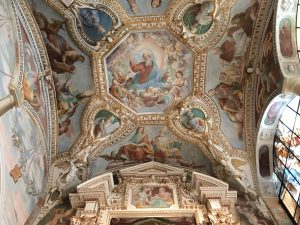 La cappella affrescata di Santa Caterina del Sasso