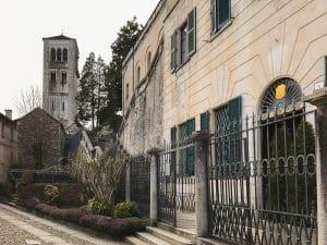 Scorcio sulla basilica di San Giulio