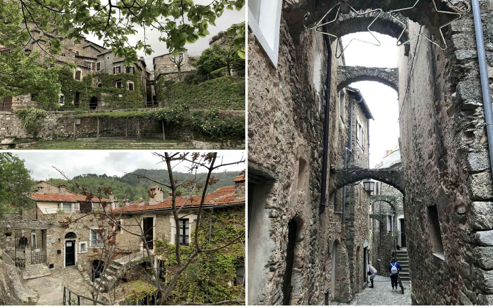 le strette vie di Castelvecchio