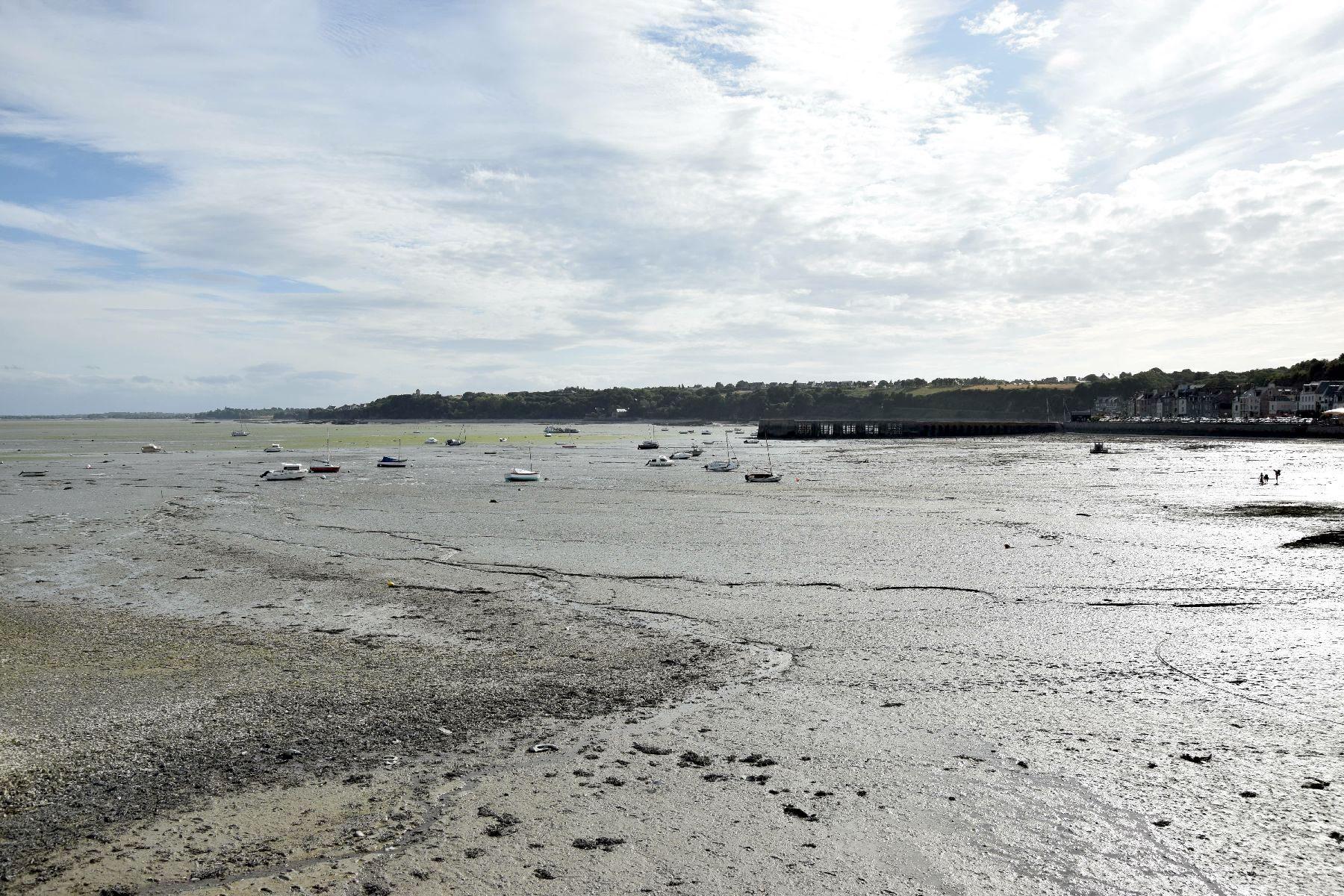 La bassa marea a Cancale