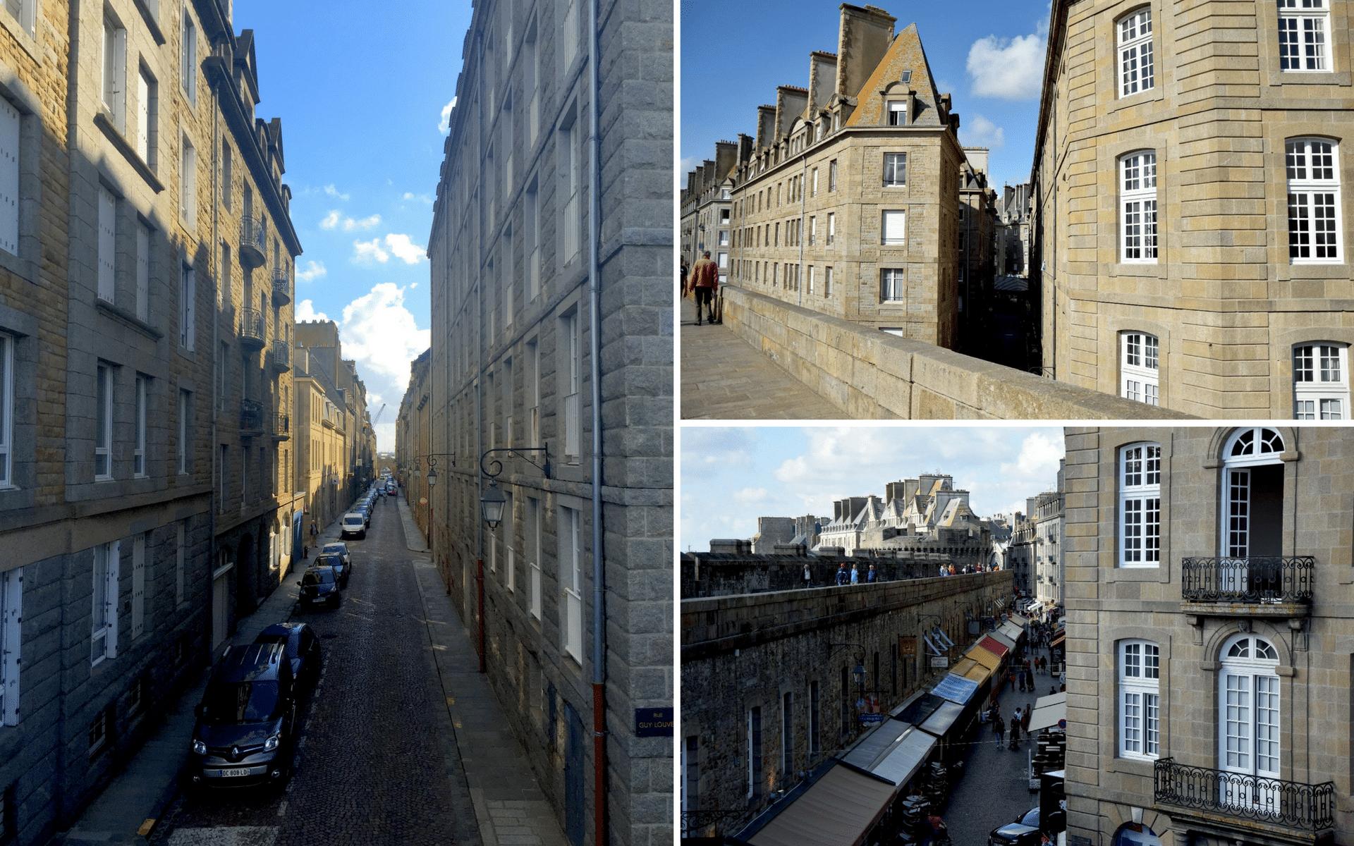 Per le strade di Saint Malo