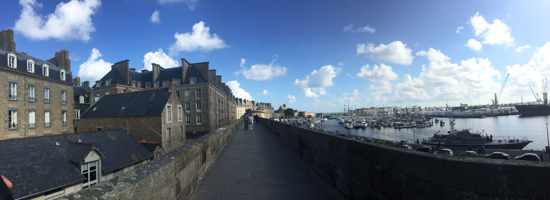Sui bastioni Saint Malo