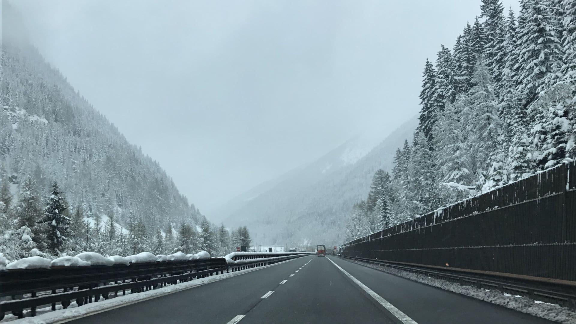 Sull'autostrada del Brennero