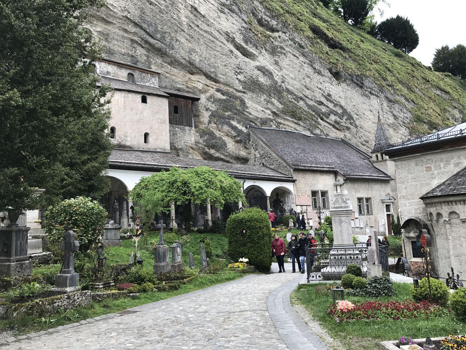 Cimitero di San Pietro a Salisburgo