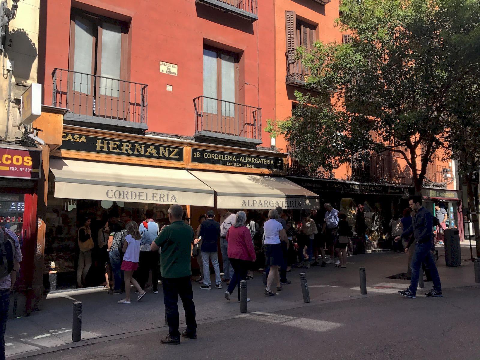 Coda da casa Hernanz Madrid
