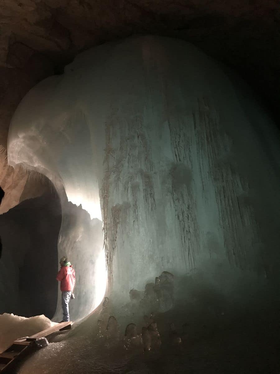 Eisriesenwelt grotte di ghiaccio