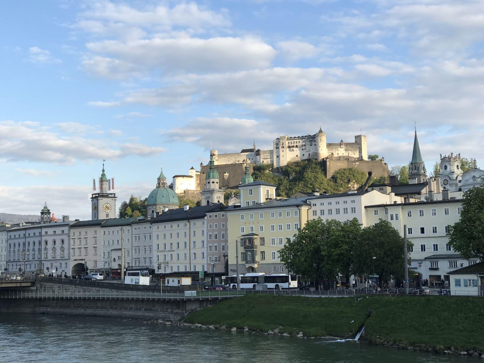 Panorama sulla Fortezza di Salisburgo