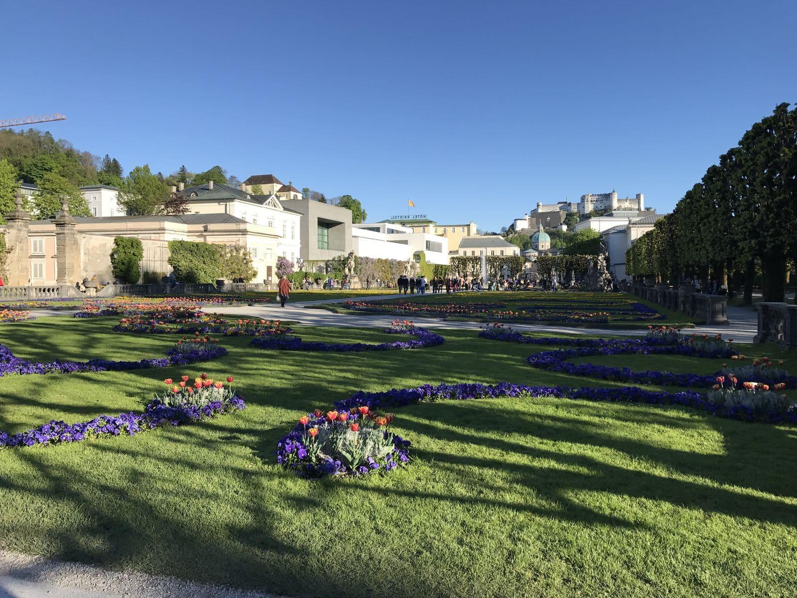 I giardini del Mirabell a Salisburgo