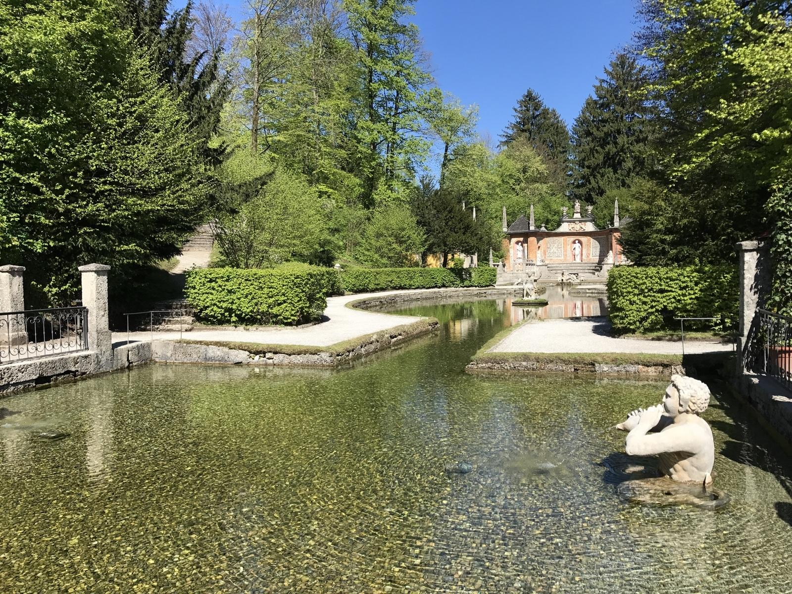 Il castello di Hellbrunn