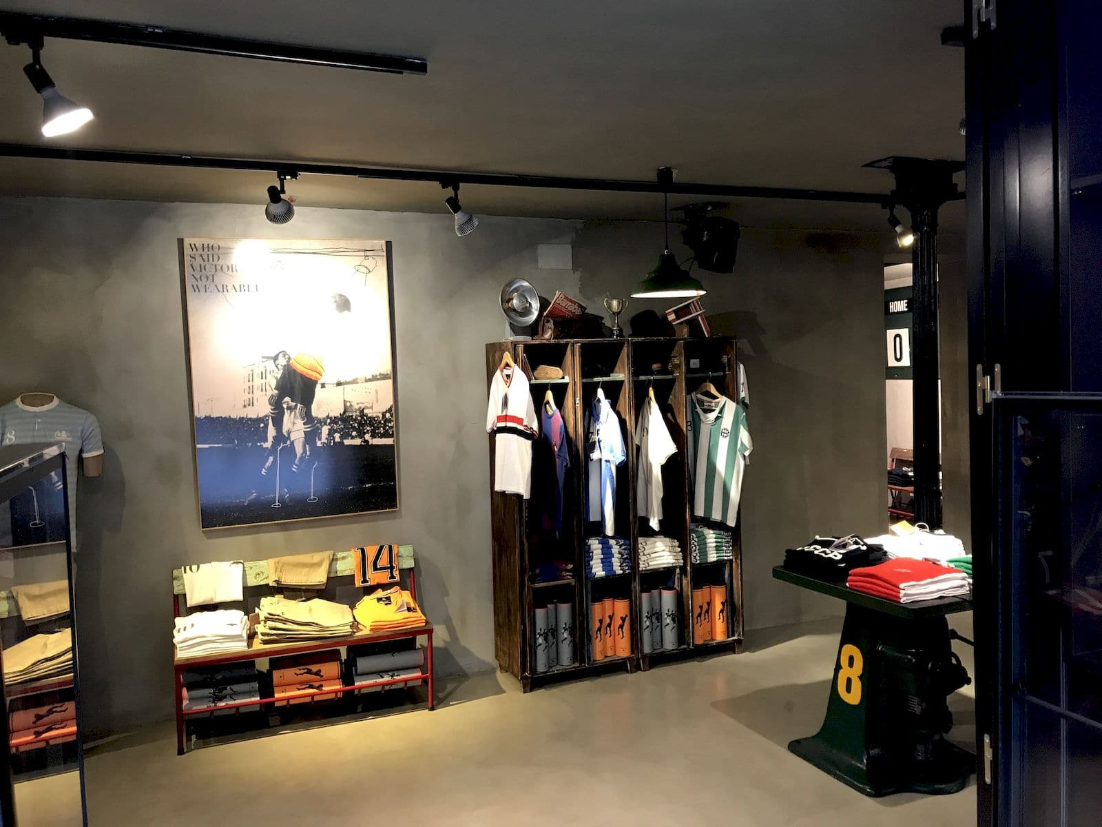 Il negozio Coolligan a Madrid