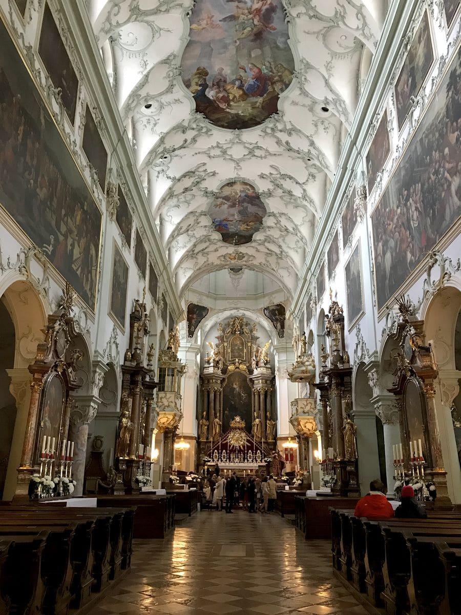 La chiesa di San Pietro a Salisburgo
