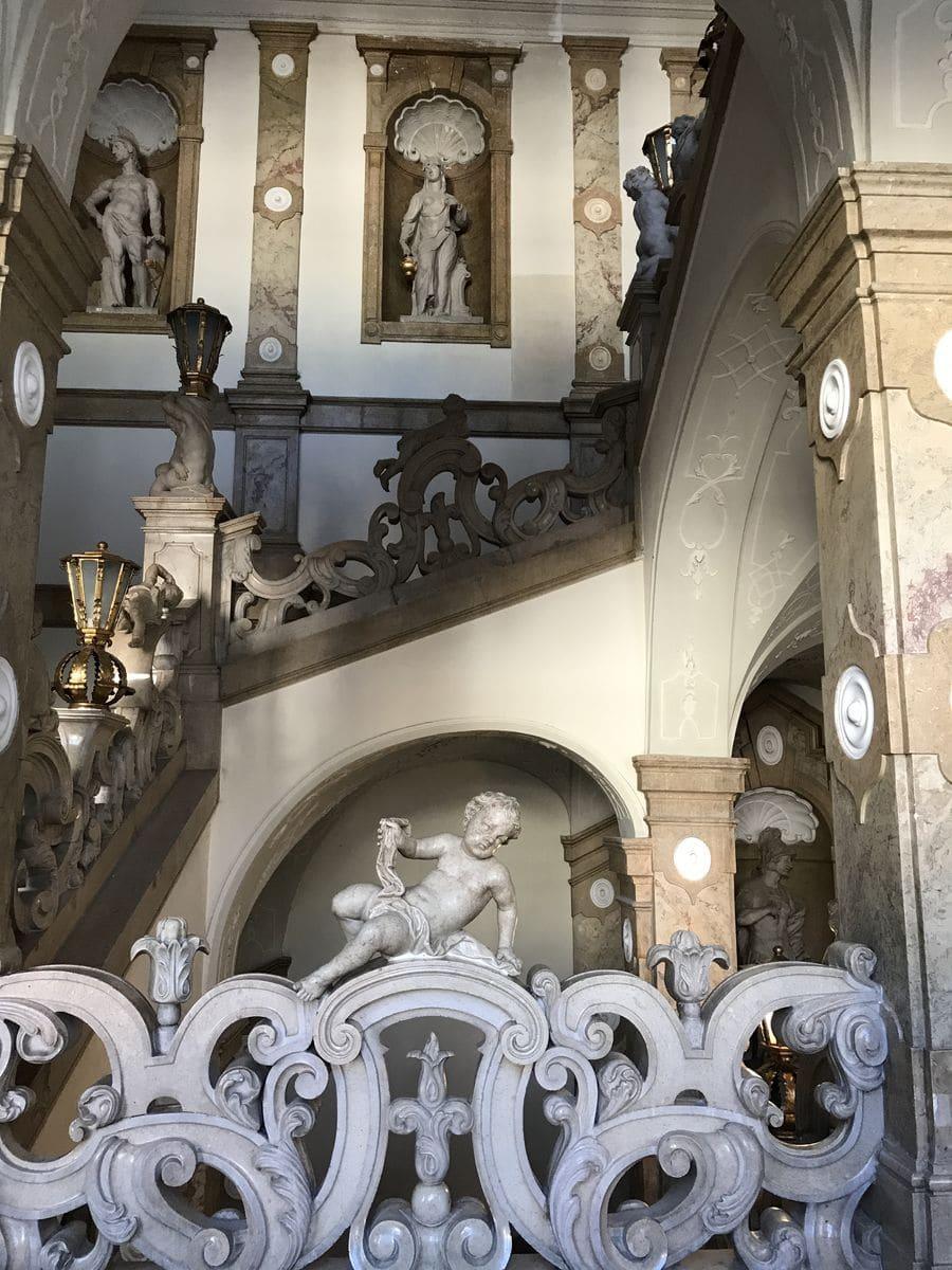 La scala degli angeli al Mirabell