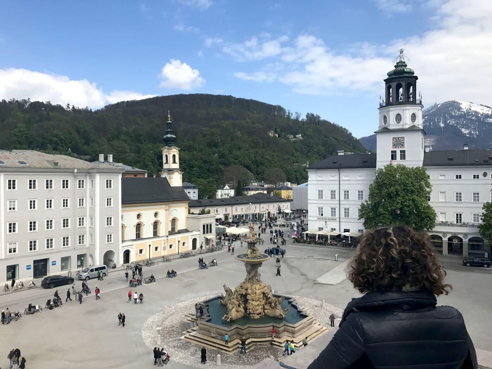 Residenzplatz a Salisburgo