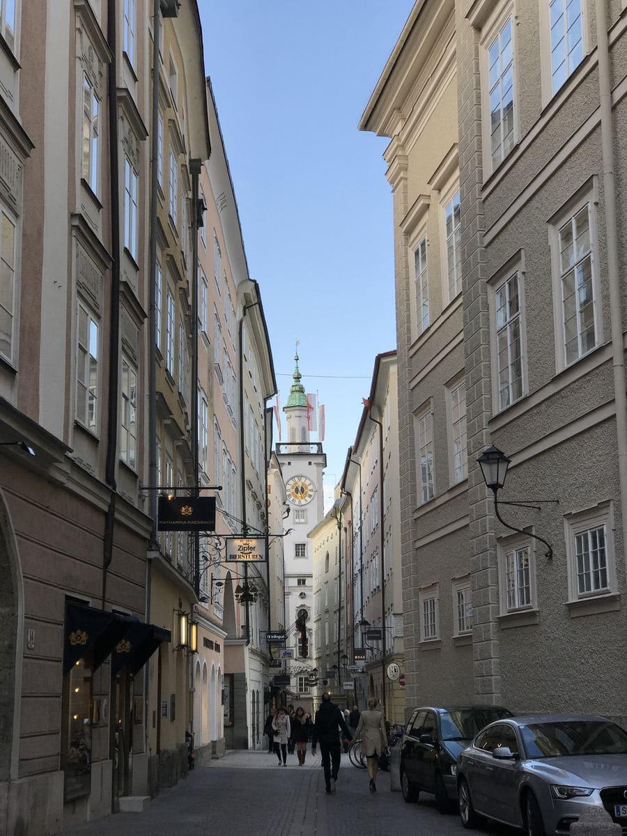 Le strade di Salisburgo