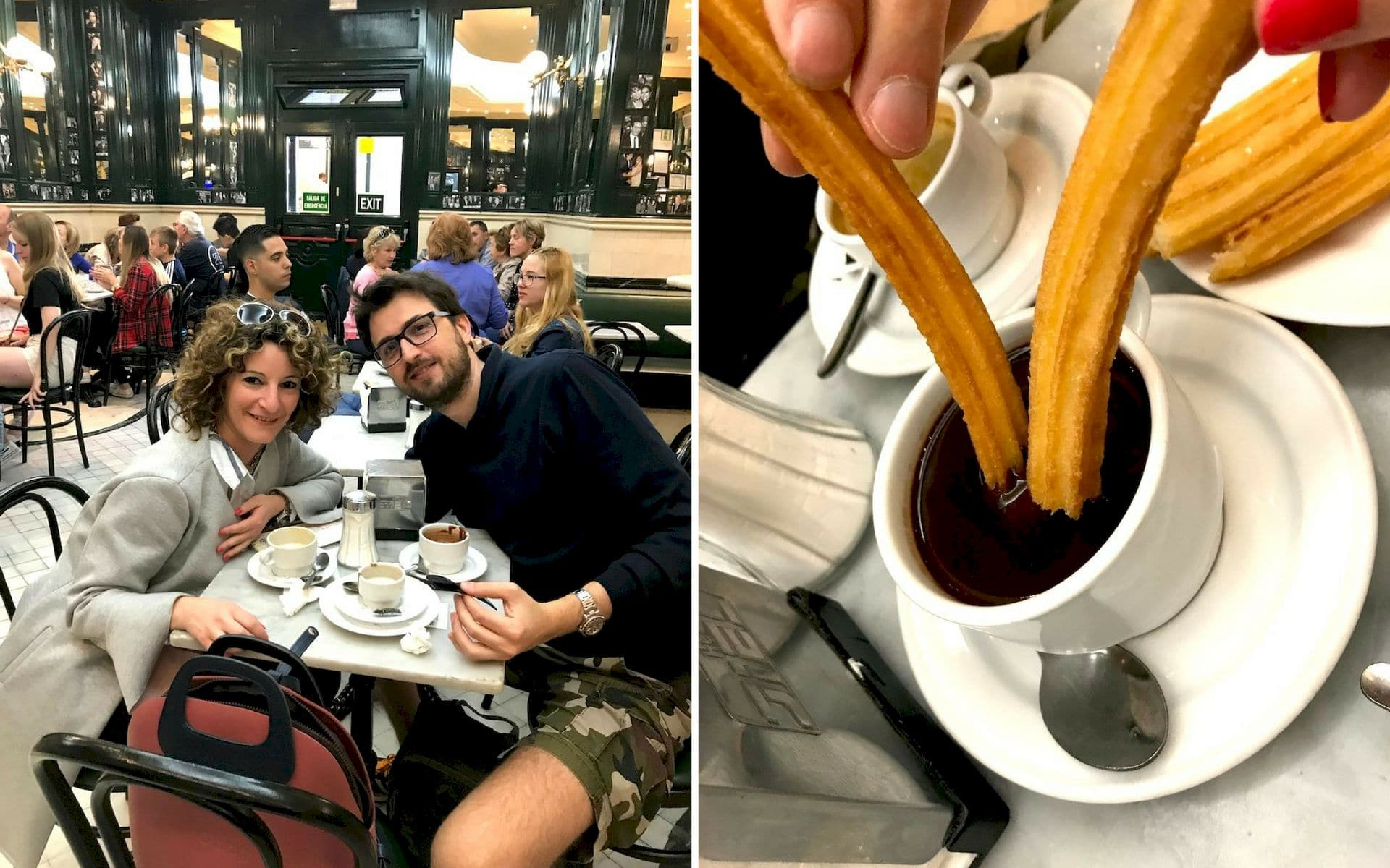 Churros da San Gines Madrid