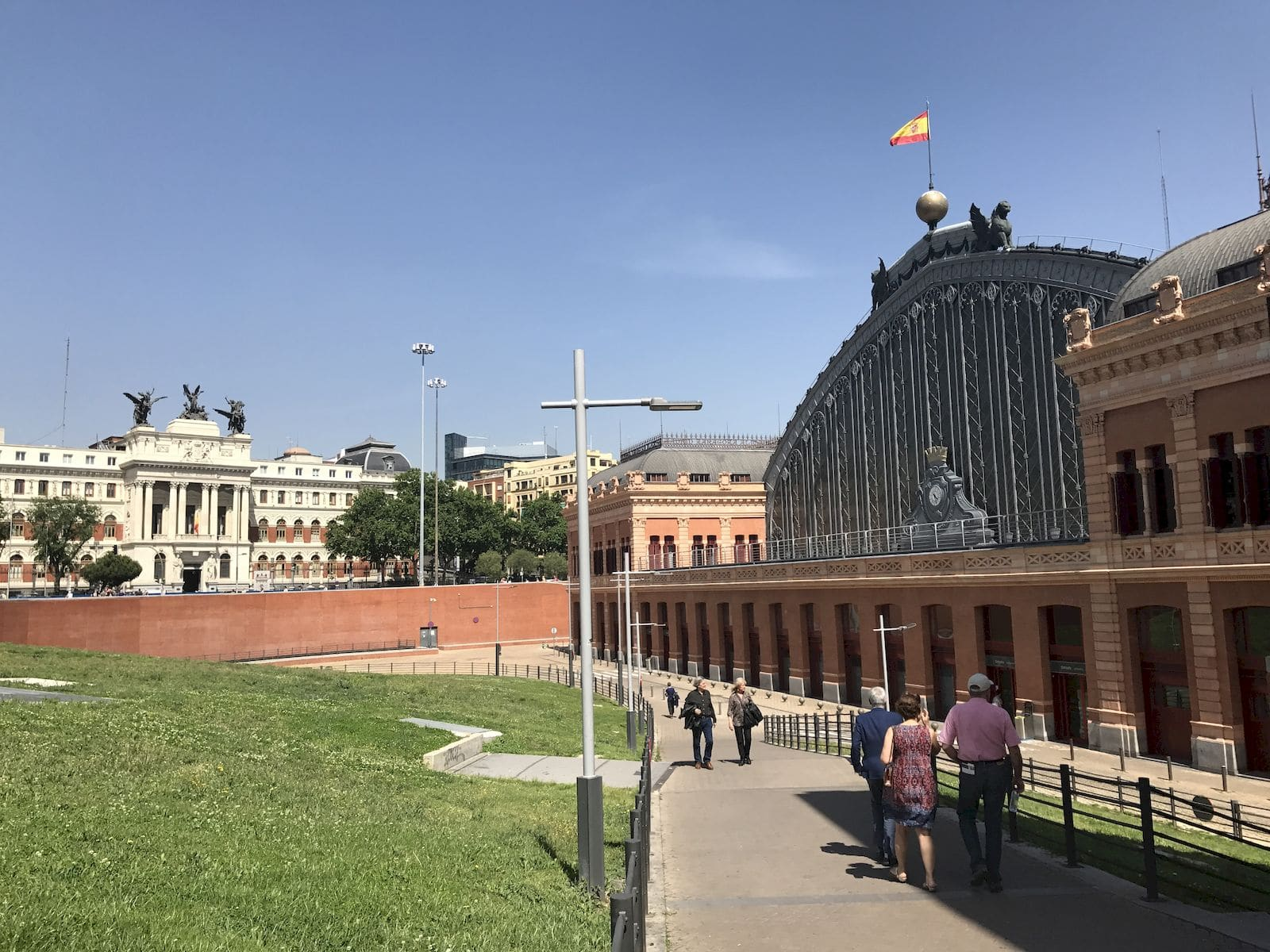 arco in ferro e vetro di Atocha