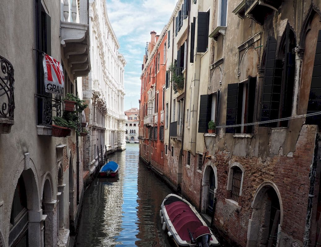 La galleria d'arte Ca' Pesaro a Venezia