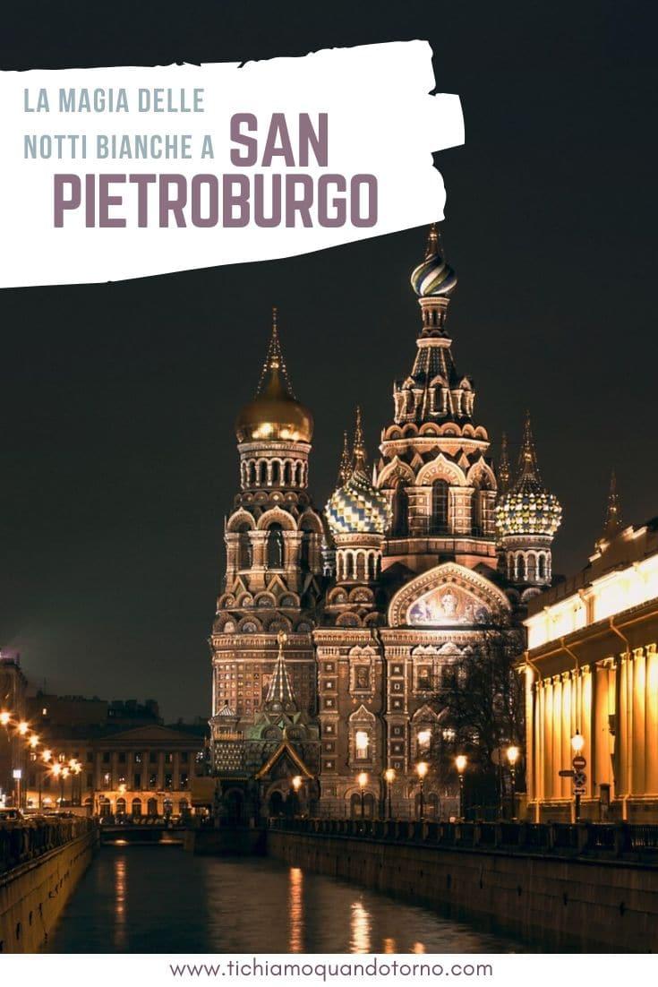Notti bianche San Pietroburgo