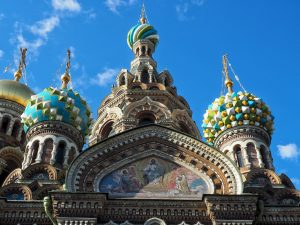 La cattedrale del Sangue Versato a San Pietroburgo