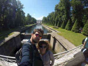 Selfie a Peterhof