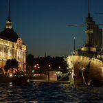 notti bianche a San Pietroburgo - incrociatore aurora